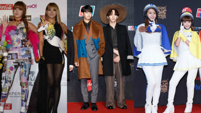 7 K-pop red carpet fashion misfires   SBS PopAsia TWICE outfits